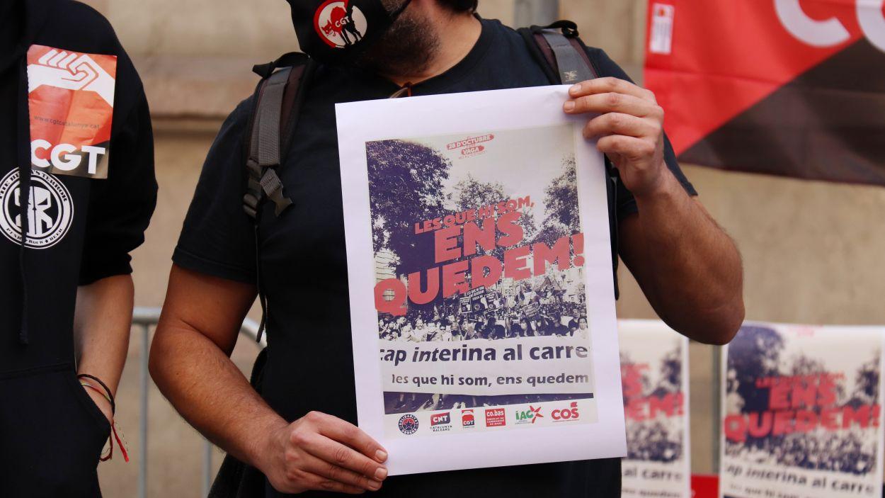 Convocada una vaga al sector públic pel 28 d'octubre
