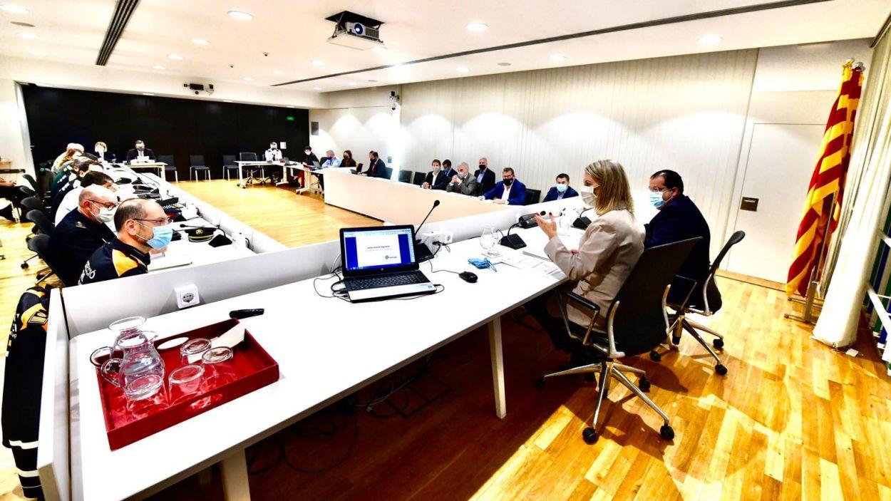 Imatge de la Junta Local de Seguretat / Foto: Localpres - Ajuntament de Sant Cugat