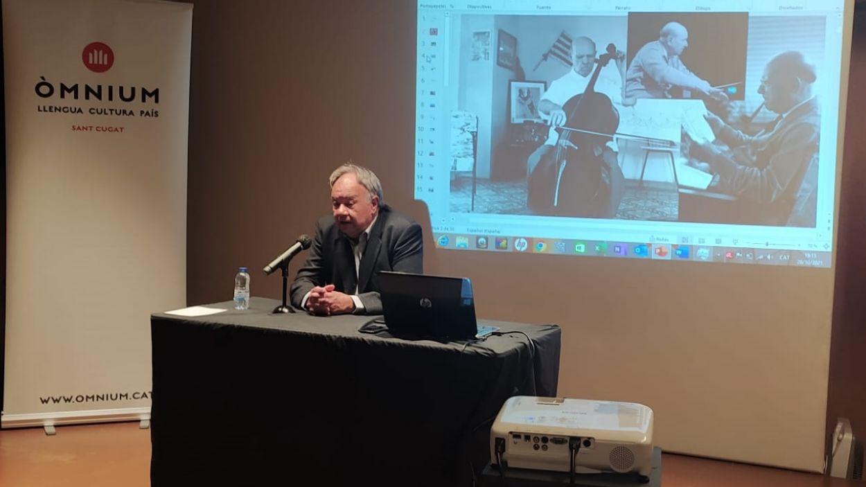 Josep Maria Figueres recorda els 50 anys del discurs de Pau Casals a les Nacions Unides