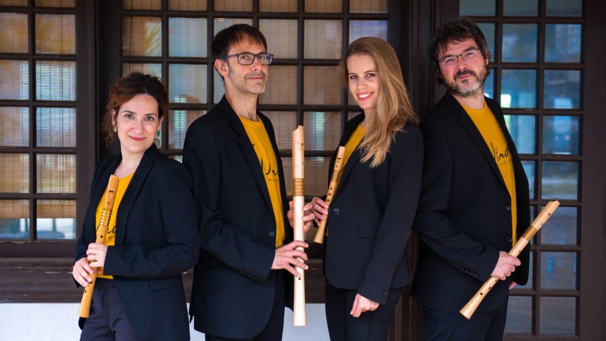 Windu Quartet és una de les formacions que participaran al cicle musical / Foto: Alicia Ruth
