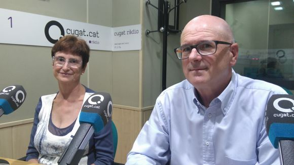 Lourdes Díez i Enric Bosch (ACCU)