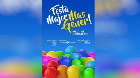 La festa major de Mas Gener arriba al barri amb noves activitats els propers dies 2, 3 i 4 de setembre