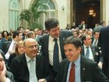 Lluís Recoder i més de mig miler d'alcaldes de tot Catalunya han celebrat la constitució dels ajuntaments democràtics, avui fa 25 anys.