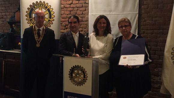 Dolors Vilarasau i el Teatre-Auditori reben els premis Rotary