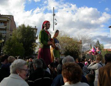 Els Geganters celebren el quart de segle com un dels pilars de la cultura popular local