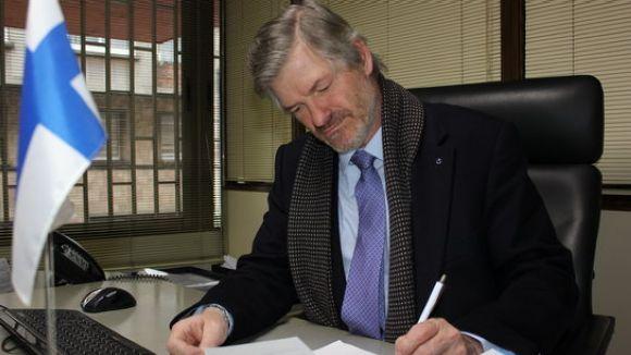 Finlàndia reconeix que ha destituït el cònsol honorari, el valldoreixenc Albert Ginjaume, a petició del govern espanyol