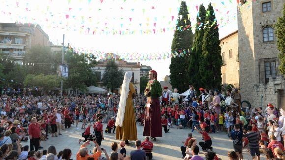 Enguany se celebra la 30a edició de la Trobada Gegantera / Foto: Localpres