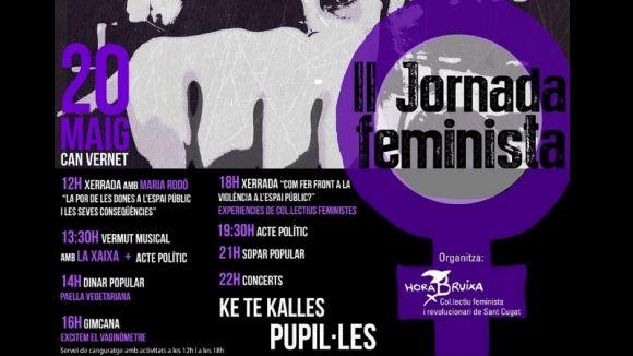 Hora Bruixa celebra la 2a jornada feminista amb l'objectiu d'apropar el feminisme al poble i al carrer