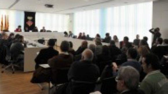 Imatge del Consell Sectorial d'Esports del curs passat