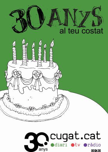 La celebració dels 30 anys de Cugat.cat, el dimecres 27 de juny