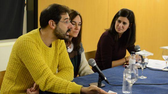 Laura Conejero i Jordi Prat desgranen l'univers de 'La Fortuna de Sílvia' abans de l'estrena al Teatre-Auditori