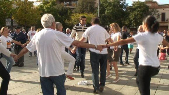 El 43è Aplec Sardanista espera la participació de prop de 500 persones a la plaça d'Octavià