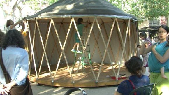 Art i sostenibilitat es donen la mà al 3r FesCamp per reflexionar sobre la relació entre ciutadania i territori