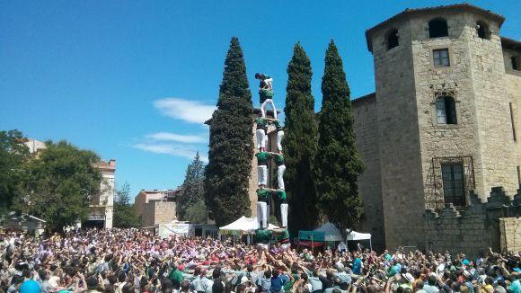 Els Castellers reprenen la seva activitat amb un calendari atapeït