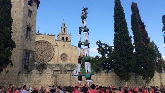 Els Gausacs estrenen diada en honor a Sant Cugat amb una clàssica de 8