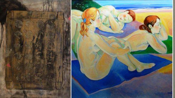 Algunes de les obres que es podran veure / Foto: Canals-art.com