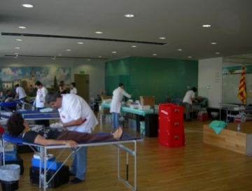 La 4a Marató de Donació de Sang supera el repte amb més de 300 donants