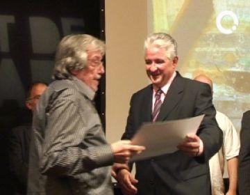 Joaquim Hidalgo, guardonat amb la 4a edició del Premi de Pintura de Petit Format Autocugat