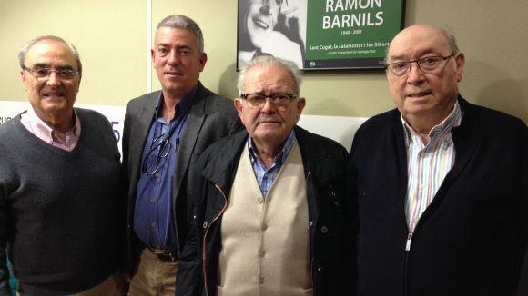 Rafael Gómez, Antoni Lloret, Blas Meca i Pere Vilarassau