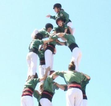 Els Gausacs es plantegen com a objectiu aixecar castells de 8