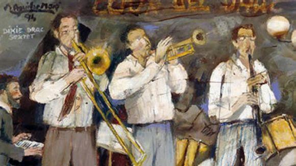 La Sala Rusiñol acull la mostra '65 anys de jazz a Barcelona'