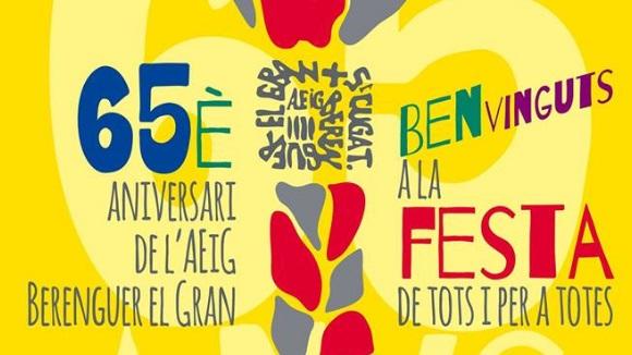 Festa del 65è aniversari de l'AEiG Berenguer el Gran