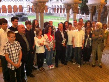Maria Trobat, Víctor Pérez i  Maria Carboni guanyen el Premi Pere Ferrer