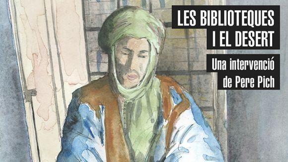 Imatge promocional de la proposta de Pich a la biblioteca barcelonina