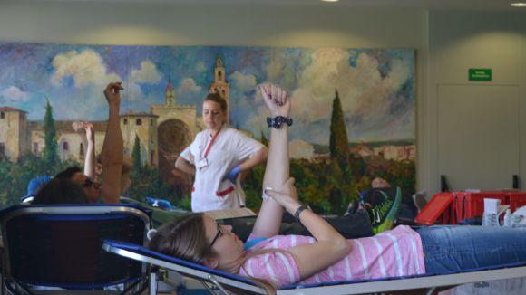 La 8a Marató de Donació de Sang supera les 300 donacions