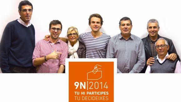 L'EMD de Valldoreix edita un cartell per animar els ciutadans a votar pel 9N