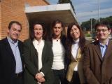 Sánchez-Camacho ha visitat el CAR acompanyada de membres de l'executiva local del PP