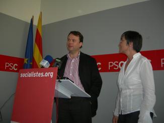 El PSC ofereix el seu suport a l'Ajuntament per promocionar la candidatura a l'IET