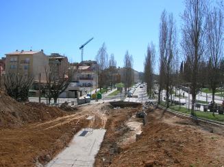 El govern local demana 'responsabilitats' a la constructora de l'aparcament del Monestir perquè s'inunda