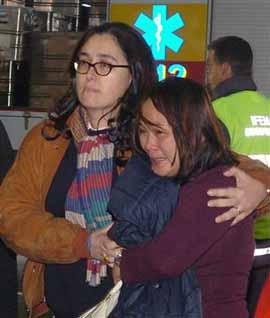 Lozano ha explicat que va ajudar les famílies de les víctimes.