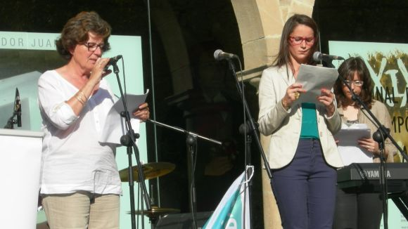 Maria Milagros Célix i Teresa Sirvent han interpretat 'El río de las siete estrellas'