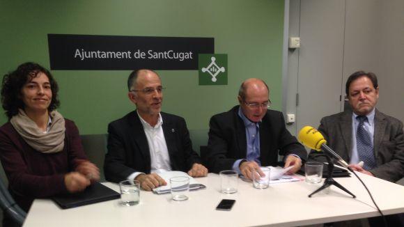 La Fundació NEC del col·legi CreaNova i l'AASCV han presentat l'acord de col·laboració aquest dimarts