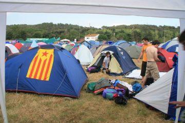 L'Acampada Jove vol beneficiar-se de la crisi i espera incrementar el nombre d'assistents
