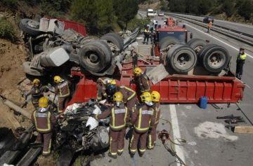 Mor un dels implicats en l'accident d'ahir a la C-16, a Rubí