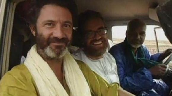 Difonen imatges inèdites del segrest d'Albert Vilalta i Roque Pascual a Mali