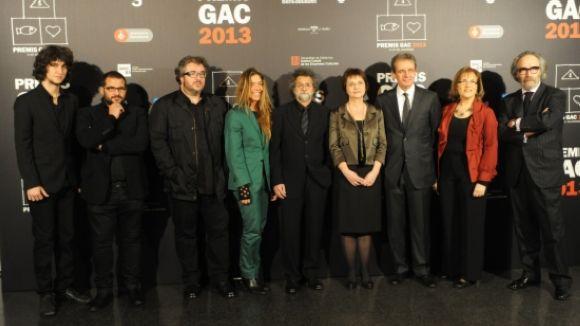 Al 2013, els Premis GAC van premiar el santcugatenc Carles Taché / Foto: ACN