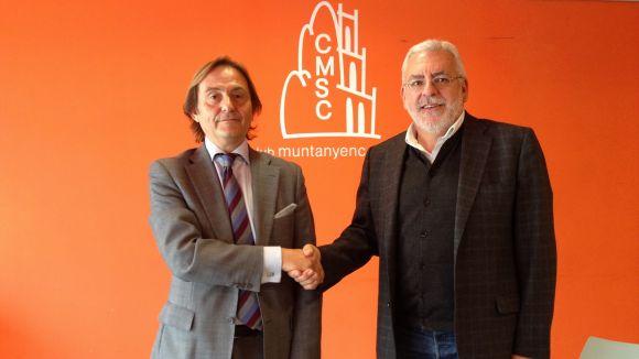 Mútua General de Catalunya impulsa la nova seu del CMSC amb 2.000 euros