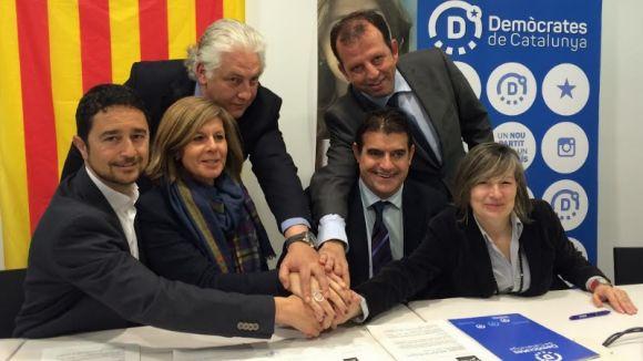 Convergència i Demòcrates de Catalunya refermen el compromís per governar Sant Cugat fins al 2019