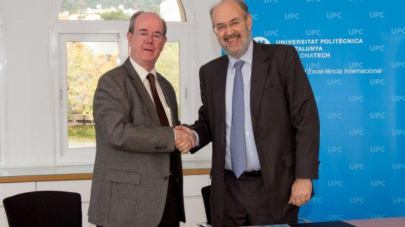 La UPC i Sant Cugat Empresarial signen un acord per difondre l'activitat d'R+D de la Universitat