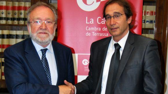La Cambra de Terrassa i Banc Sabadell continuen col·laborant