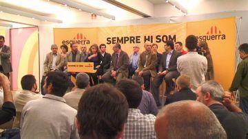 Els candidats vallesans d'ERC es presenten a Sant Cugat com a garantia d''honestedat'