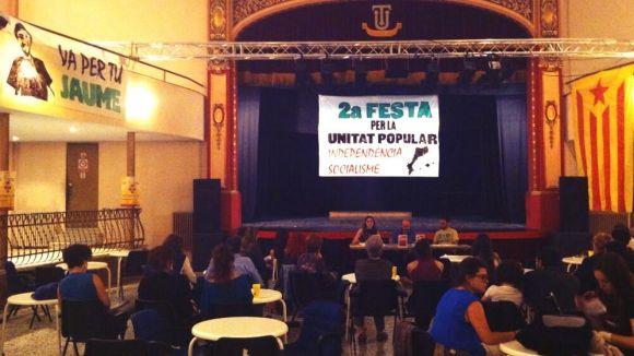 La CUP organitza una nova edició de la Festa d'Unitat Popular