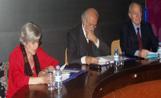 Martí Olaya, Jaume Pla i Núria Tubau van protagonitzar aquest acte