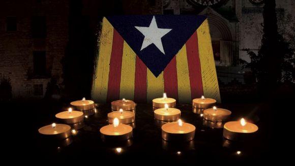 Les entitats sobiranistes volen il·luminar la plaça d'Octavià en suport a Mas, Rigau i Ortega pel 6F