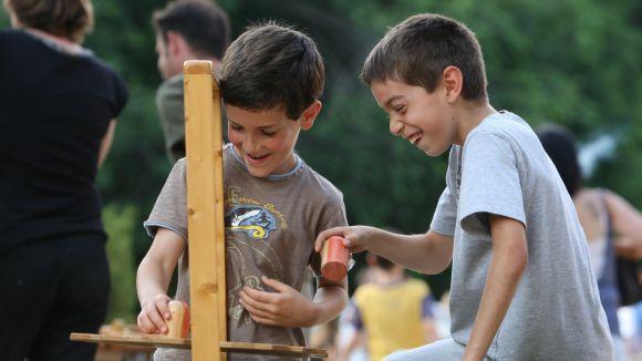 El Parc Central acollirà les activitats infantils / Foto: Lluís Llebot