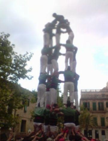 Actuació dels Castellers a Mallorca